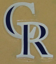 COLORADO ROCKIES FULL SIZE HELMET 3M STICKER DECAL