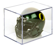 UV Protected Mini Football Helmet Display Cube by Ballqube