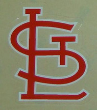SAINT LOUIS CARDINALS ROAD FULL SIZE HELMET 3M STICKER DECAL