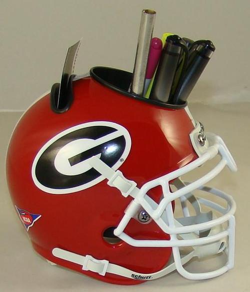Georgia Bulldogs Mini Helmet Desk Caddy by Schutt