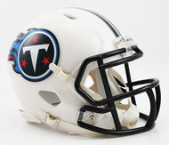 Tennessee Titans Throwback 1999-2017 NFL Revolution Speed Mini Football Helmet