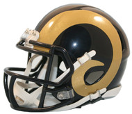 St. Louis / Los Angeles Rams 2000-2016 Throwback SPEED Mini Helmet