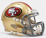 San Francisco 49ers Revolution SPEED Mini Helmet