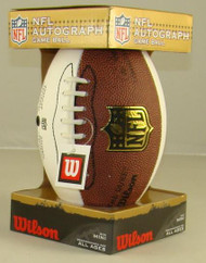 NFL Autograph White Panel Mini Game Football by Wilson (Boxed)