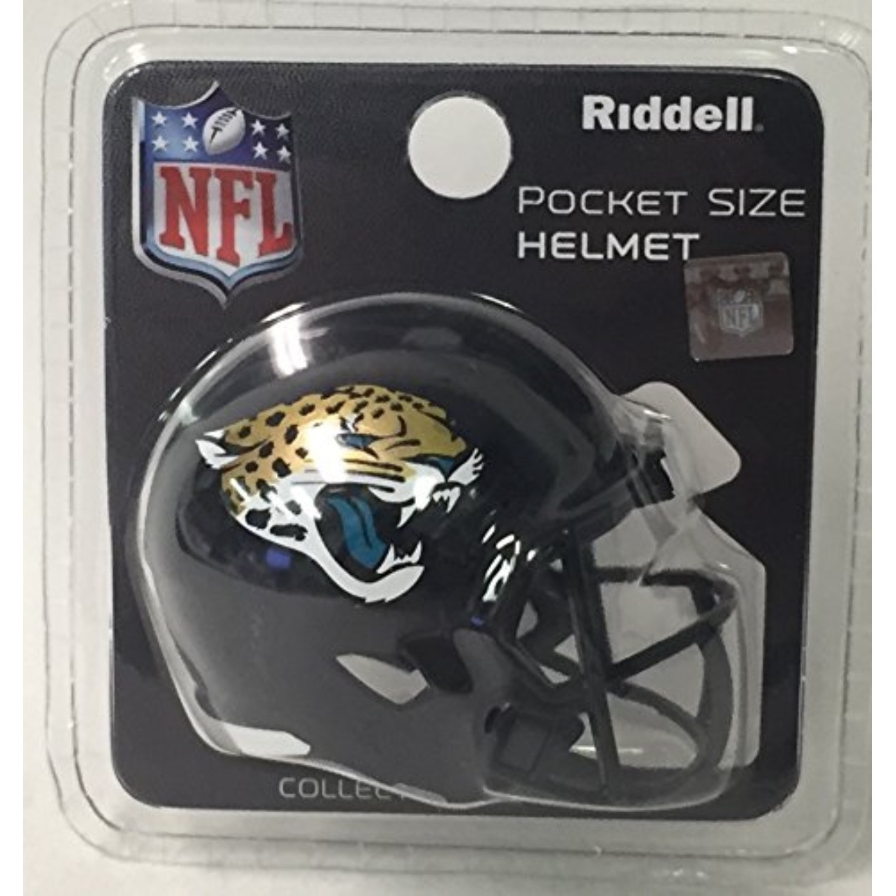bf5635e6 Jaguars Riddell NFL Speed Pocket Pro Helmets Sports & Outdoors Supporters  Gear