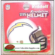 Los Angeles Chargers Revolution Mini Pocket Pro Helmet