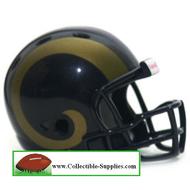 Saint Louis Rams Revolution Mini Pocket Pro Helmet