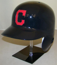 Cleveland Indians with C Logo Road Rawlings Classic LEC Full Size Baseball Batting Helmet