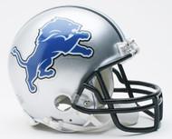 Detroit Lions Throwback  2009 to 2016 Riddell Mini Helmet