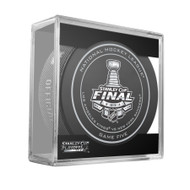 2014 NHL Stanley Cup Finals Playoff Sherwood Official Game Puck - Game 5 (Five)