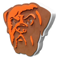 Cleveland Browns 3D Fan Foam Logo Sign