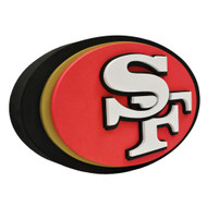 San Francisco 49ers 3D Fan Foam Logo Sign