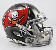 Tampa Bay Buccaneers Revolution SPEED Mini Helmet (New 2014 Logo)