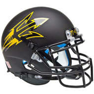 Arizona State Sun Devils Alternate Black PT-42 Schutt Mini Authentic Football Helmet