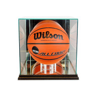 Deluxe Real Glass Basketball Rectangle Display Case