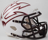 Arizona State Sun Devils White LARGE FORK Revolution SPEED Mini Helmet