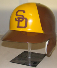 San Diego Padres Rawlings Throwback LEC Full Size Baseball Batting Helmet