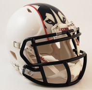 Connecticut Huskies White Revolution NCAA SPEED Mini Helmet