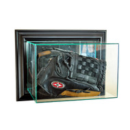 Deluxe Real Glass Wall Mounted Glove Display Case