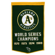 Oakland A's Dynasty Banner