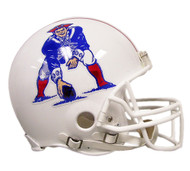 New England Patriots 1982-89 Throwback Riddell Full Size Authentic Helmet
