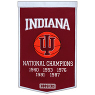 Indiana Hoosiers Dynasty Banner