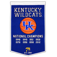 Kentucky Wildcats Dynasty Banner