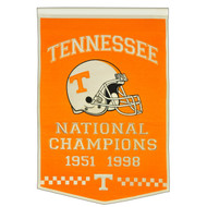 Tennessee Volunteers Dynasty Banner