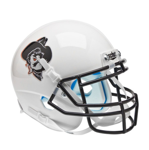 Oklahoma State Cowboys White Pistol Pete Schutt Full Size Replica XP Football Helmet