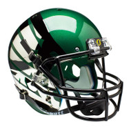 Oregon Ducks Schutt Carbon Fiber Green  Wing Full Size Replica Helmet