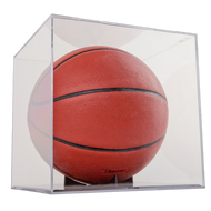Grandstand Basketball / Soccer / Volley Ball Display with Clear Base and Stand