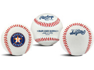 "Houston Astros Rawlings ""The Original"" Team Logo Baseball"