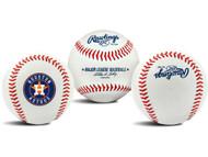 "Houston Astros Rawlings ""The Original"" Team Logo Baseball"