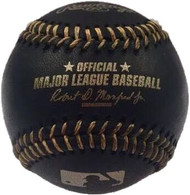 MLB BLACK & GOLD Rawlings Official Baseball
