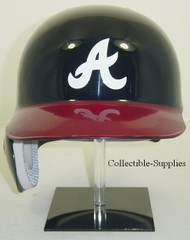 Atlanta Braves Navy/Red Home Rawlings Classic REC Full Size Baseball Batting Helmet