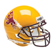 Arizona State Sun Devils Alternate Gold Running Devil Schutt Mini Authentic Football Helmet