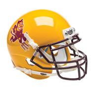 Arizona State Sun Devils Alternate Gold Running Devil Schutt Mini Authentic Football Helmet