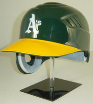 Oakland A's Rawlings Coolflo REC Full Size Baseball Batting Helmet