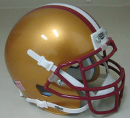 Boston College Eagles Alternate Schutt Mini Authentic Football Helmet