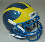 Delaware Blue Hens Schutt Mini Authentic Football Helmet