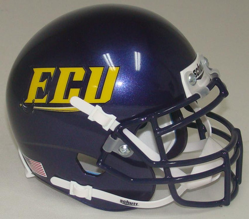 East Carolina Pirates Alternate 1 Schutt Mini Authentic Football Helmet