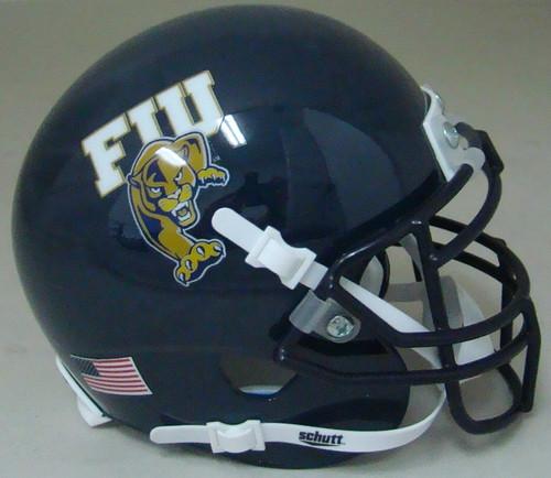Florida International Panthers Schutt Mini Authentic Football Helmet