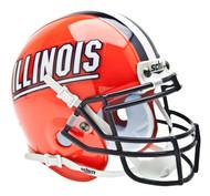 Illinois Fighting Illini Schutt Mini Authentic Football Helmet
