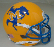 McNeese State Cowboys Schutt Mini Authentic Football Helmet