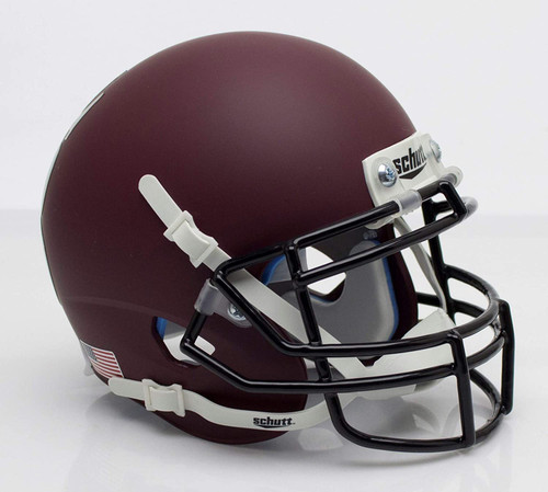 Montana Grizzlies Alternate Crimson Schutt Mini Authentic Football Helmet