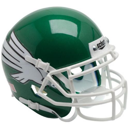 North Texas Mean Green Schutt Mini Authentic Football Helmet