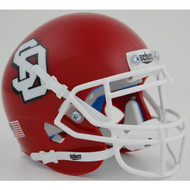 South Dakota Coyotes Schutt Mini Authentic Football Helmet