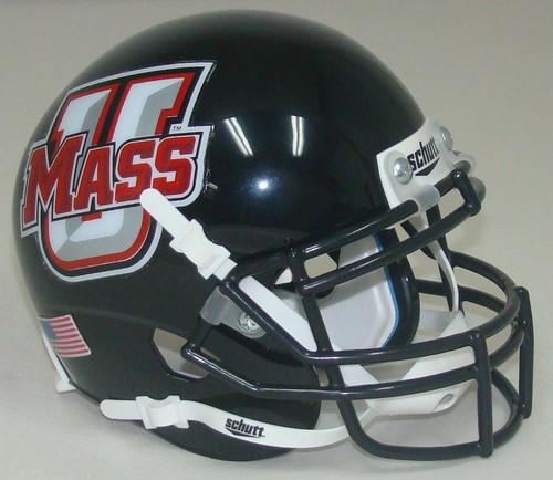 University of Massachusetts Schutt Mini Authentic Football Helmet