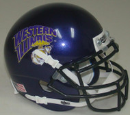 Western Illinois Leathernecks Alternate Schutt Mini Authentic Football Helmet