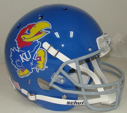 Kansas Jayhawks Schutt Full Size Replica XP Football Helmet